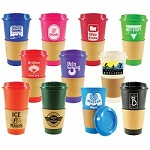 'NEW' 16oz. Sip N Style Stackable Tumbler