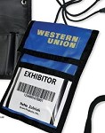 'NEW' Trade Show Badge Holder